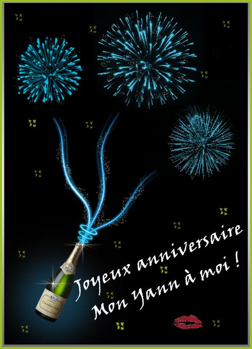 Joyeux Anniversaire Mon Yann A Moi